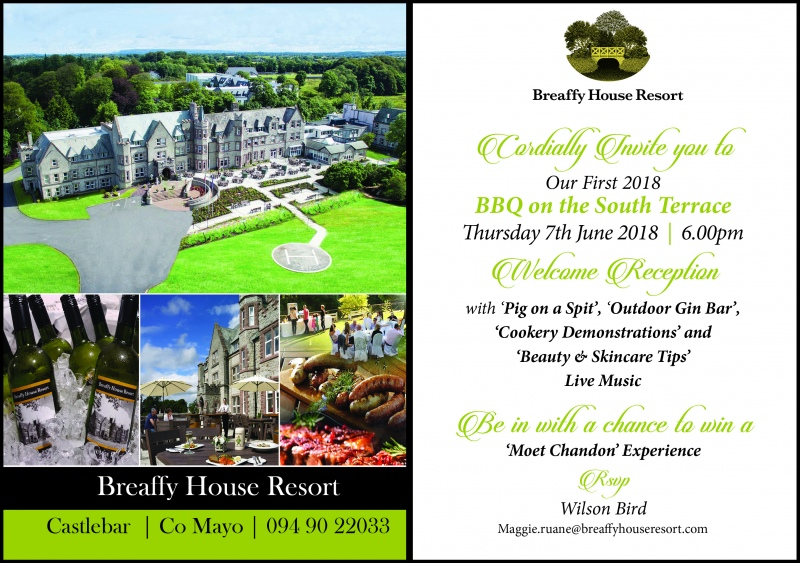 breaffy house bbq invitation