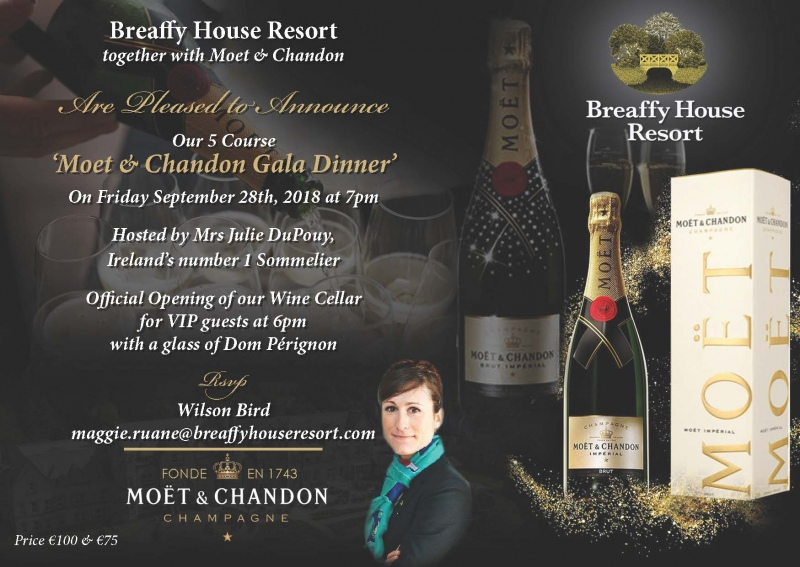 moet chandon invitation
